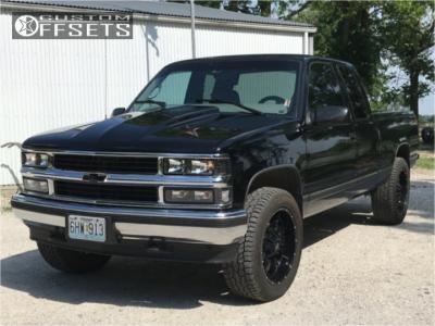 1998 Chevrolet K1500 - 20x9 0mm - American Eagle 18 - Stock Suspension - 275/55R20