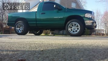 2004 Dodge Ram 1500 - 20x12 -44mm - XD Riot - Leveling Kit - 275/60R20