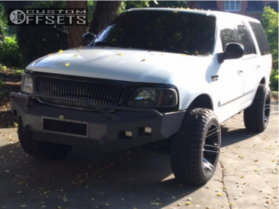 """2000 Ford Expedition - 20x12 -44mm - Toxic Avenger - Stock Suspension - 33"""" x 12.5"""""""