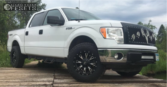 2011 Ford F-150 - 18x9 1mm - Fuel Throttle - Stock Suspension - 275/70R18