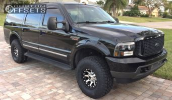 2003 Ford Excursion - 16x9 -12mm - XD XD798 - Stock Suspension - 295/75R16