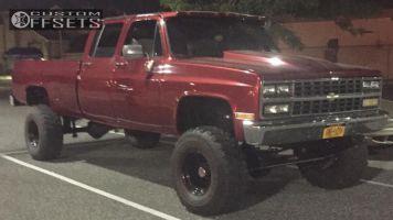 """1981 Chevrolet K30 - 16x10 -38mm - Pro Comp Series 98 - Suspension Lift 6"""" - 36"""" x 14.5"""""""