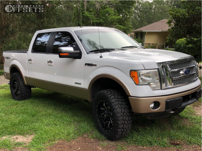 """2011 Ford F-150 - 20x9 0mm - Fuel Lethal - Leveling Kit & Body Lift - 35"""" x 12.5"""""""