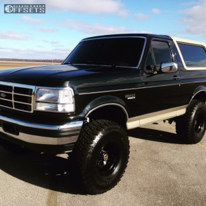 "1993 Ford Bronco - 15x10 -44.45mm - Pro Comp Series 97 - Suspension Lift 6"" - 35"" x 12.5"""