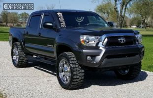 "2013 Toyota Tacoma - 20x9 -12mm - Fuel Hostage - Suspension Lift 3"" - 33"" x 12.5"""