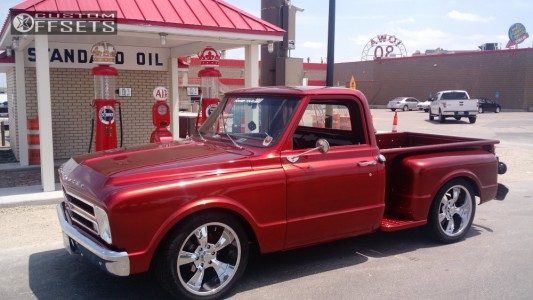 1967 Chevrolet C10 - 20x9 0mm - Rocket Racing Booster 6 - Lowered 3F / 5R - 275/40R20