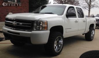 "2009 Chevrolet Silverado 1500 - 20x12 -44mm - Gear Off-Road Big Block - Leveling Kit - 33"" x 12.5"""