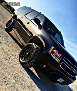 "2008 Chevrolet Suburban 1500 - 20x9 0mm - Moto Metal Mo962 - Suspension Lift 3.5"" - 33"" x 12.5"""