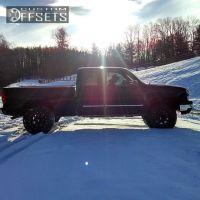 "2003 Chevrolet Silverado 1500 - 18x10 -24mm - Moto Metal MO962 - Suspension Lift 3"" - 35"" x 12.5"""