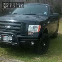 """2009 Ford F-150 - 20x10 20mm - XD Rockstar - Leveling Kit - 33"""" x 11.5"""""""