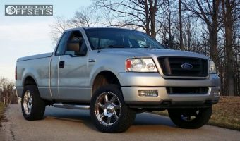 2004 Ford F-150 - 20x9 0mm - Moto Metal MO976 - Leveling Kit - 285/50R20