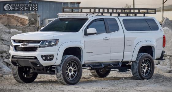 "2016 Chevrolet Colorado - 20x9 0mm - Mamba M21 - Suspension Lift 6"" - 305/50R20"