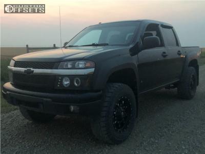 2006 Chevrolet Colorado - 18x9 -12mm - Fuel Krank - Leveling Kit - 275/65R18
