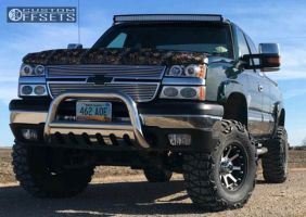 "2005 Chevrolet Silverado 1500 - 17x9 -12mm - XD XD798 - Suspension Lift 6"" - 35"" x 12.5"""