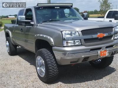 "2003 Chevrolet Silverado 1500 - 20x12 -43mm - Fuel Triton - Suspension Lift 6"" - 35"" x 12.5"""
