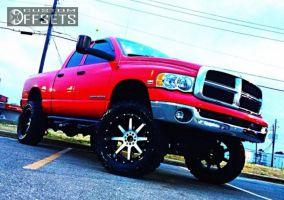 "2004 Dodge Ram 1500 - 22x10 -24mm - Fuel Maverick - Suspension Lift 9"" - 37"" x 13.5"""