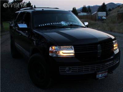 2008 Lincoln Navigator - 18x10 -12mm - Fuel Trophy - Air Suspension - 275/65R18