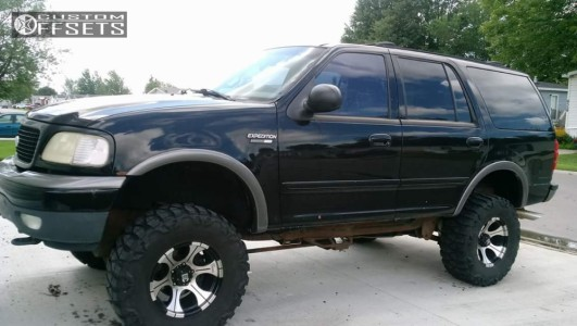 """1999 Ford Expedition - 17x9 -12mm - Dick Cepek Dc-2 - Suspension Lift 4"""" - 35"""" x 12.5"""""""