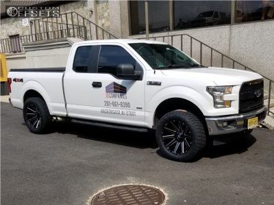 2017 Ford F-150 - 20x10 -18mm - Fuel Contra - Leveling Kit - 305/50R20