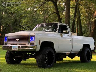 "1978 Chevrolet K20 Pickup - 20x14 -76mm - Scorpion Sc10 - Suspension Lift 4"" - 305/55R20"