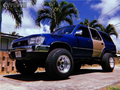 "1992 Toyota 4Runner - 15x12 -73mm - Mickey Thompson Classic Iii - Stock Suspension - 31"" x 10.5"""