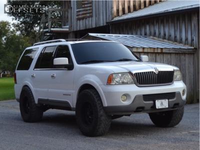 "2004 Lincoln Navigator - 20x10 -24mm - XD Diesel - Leveling Kit - 37"" x 13.5"""