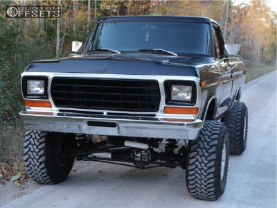 "1979 Ford F-150 - 15x12 -73mm - Mickey Thompson Classic Iii - Suspension Lift 4"" - 35"" x 13.5"""