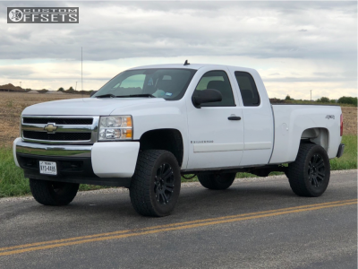 2008 Chevrolet Silverado 1500 - 18x9 18mm - XD Xd778 - Leveling Kit - 265/70R18