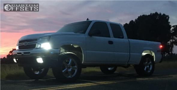 "2006 Chevrolet Silverado 1500 - 20x8.5 31mm - Oe Performance 131 - Leveling Kit - 35"" x 12.5"""