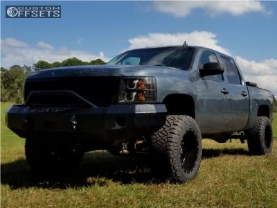 "2009 Chevrolet Silverado 1500 - 20x12 -44mm - XD Xd820 - Suspension Lift 6"" - 35"" x 13.5"""