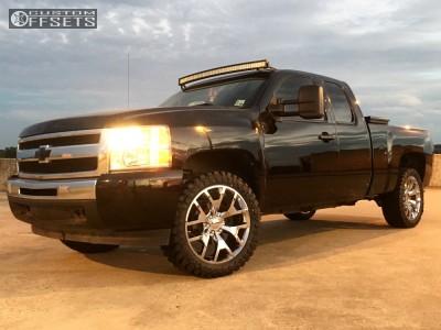 "2011 Chevrolet Silverado 1500 - 22x9 28mm - Oe Performance 169 - Stock Suspension - 33"" x 12.5"""