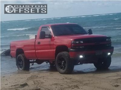 "1999 Chevrolet Silverado 1500 - 18x9 15mm - RSSW Krawler - Suspension Lift 6"" - 305/65R18"