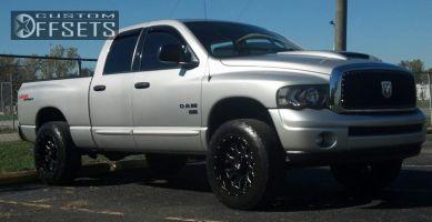 2004 Dodge Ram 1500 - 20x10 -24mm - XD MENACE - Leveling Kit - 275/65R20