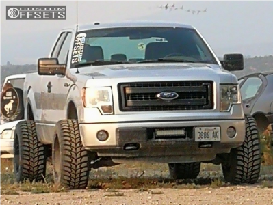 """2014 Ford F-150 - 20x12 -51mm - Vision Prowler - Leveling Kit - 33"""" x 12.5"""""""