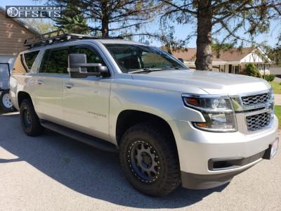 2018 Chevrolet Suburban 1500 - 18x9 18mm - Method Vex - Leveling Kit - 275/65R18
