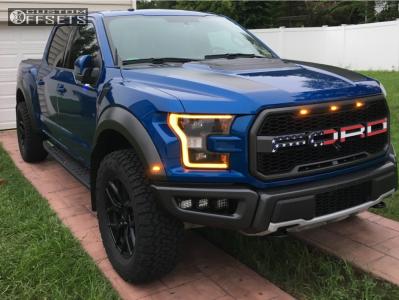 """2018 Ford Raptor - 20x9.5 12mm - Vorsteiner Venom Rex 601 - Stock Suspension - 35"""" x 12.5"""""""