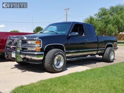 1998 Chevrolet K1500 - 15x12 -51mm - Weld Racing 16 - Stock Suspension - 325/60R15