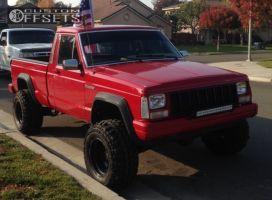 "1989 Jeep Comanche - 15x10 -47mm - Pro Comp Series 69 - Suspension Lift 3"" - 30"" x 11.5"""