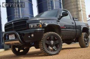 "2001 Dodge Ram 1500 - 20x8.5 10mm - Xd Xd775 - Suspension Lift 3"" - 33"" x 12.5"""