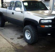 "2001 Chevrolet Silverado 1500 - 15x10 -12.7mm - summit 164s - Body Lift 3"" - 33"" x 12.5"""