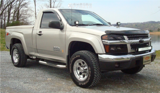 2006 Chevrolet Colorado - 15x7 -9mm - Pacer 164 - Leveling Kit - 265/75R15