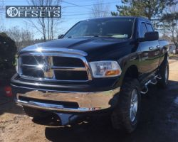 """2011 Ram 1500 - 20x8 19mm - Spaced Out Stockers Spaced Out Stockers - Suspension Lift 6"""" & Body 3"""" - 37"""" x 12.5"""""""