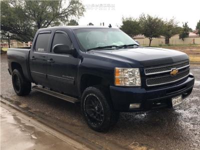 2012 Chevrolet Silverado 1500 - 20x10 -24mm - XD Xd820 - Leveling Kit - 285/50R20