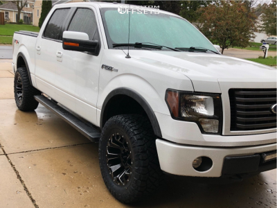 """2011 Ford F-150 - 18x9 -12mm - Fuel Assault - Leveling Kit - 35"""" x 12.5"""""""