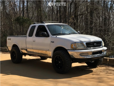"""1997 Ford F-150 - 20x10 0mm - Fuel Hostage - Suspension Lift 3.5"""" - 35"""" x 12.5"""""""