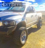 "2005 Dodge Ram 2500 - 20x10 -24mm - Jesse James lawless - Suspension Lift 6"" - 36"" x 15.5"""