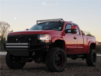 "2012 Chevrolet Silverado 1500 - 20x10 -24mm - XD Rockstar 3 - Suspension Lift 6"" - 35"" x 12.5"""