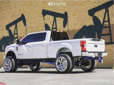 """2017 Ford F-250 - 26x16 -103mm - Specialty Forged Sf007 - Suspension Lift 8"""" - 38"""" x 15.5"""""""