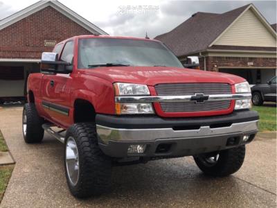 """2004 Chevrolet Silverado 1500 - 20x12 -44mm - Gear Off-Road Big Block - Suspension Lift 6"""" - 305/55R20"""