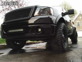 """2006 Ford F-150 - 20x9 20mm - Fuel Octane - Leveling Kit - 35"""" x 12.5"""""""